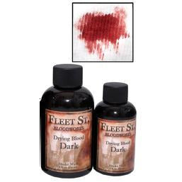 Fleet Street Bloodworks Drying Blood - Dark - Make It Up Costumes