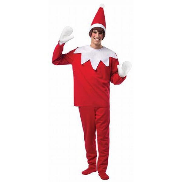 Elf on the Shelf Costume for Adults - Make It Up Costumes