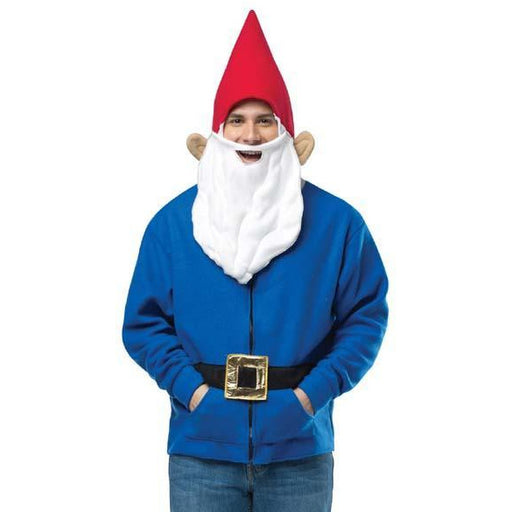 Adult Gnome Hoodie Costume - Make It Up Costumes