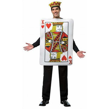 King of Hearts Playing Card Costume - Make It Up Costumes
