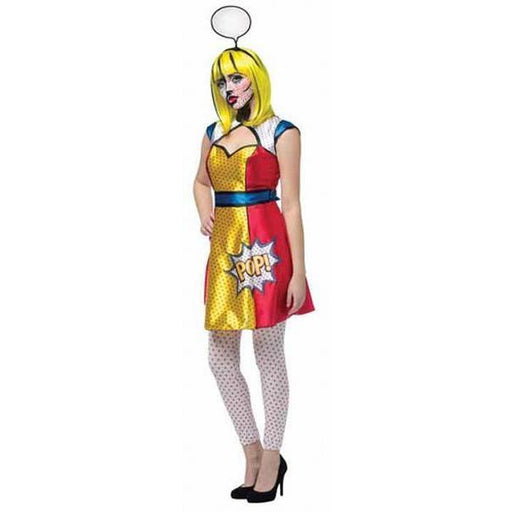 Pop Art Girl Costume - Make It Up Costumes