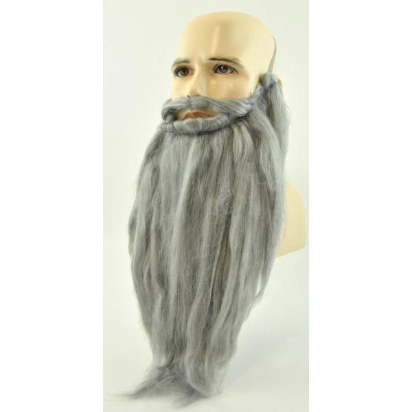"Fake 14"" Long Beard and Mustache - Make It Up Costumes"