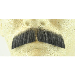 Fake Gentleman's Mustache - 100% Human Hair - Make It Up Costumes