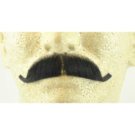 Fake European Mustache - 100% Human Hair - Make It Up Costumes