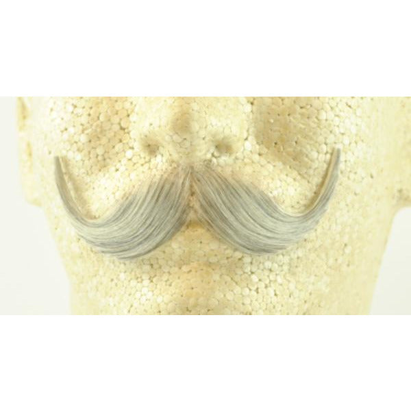 Fake Handlebar Mustache 2013 - 100% Human Hair - Make It Up Costumes