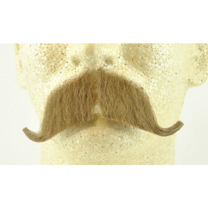 Fake Walrus Mustache - 100% Human Hair - Make It Up Costumes