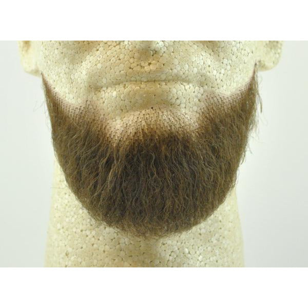 Fake 3-Point Beard 2023 - 100% Human Hair - Make It Up Costumes