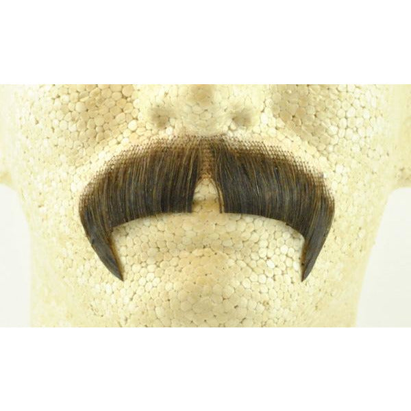 Fake Winchester Mustache 2028 - 100% Human Hair - Make It Up Costumes