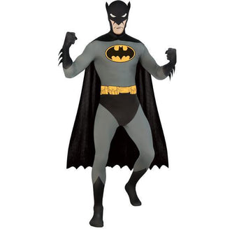 2nd Skin Adult Batman Costume - Make It Up Costumes