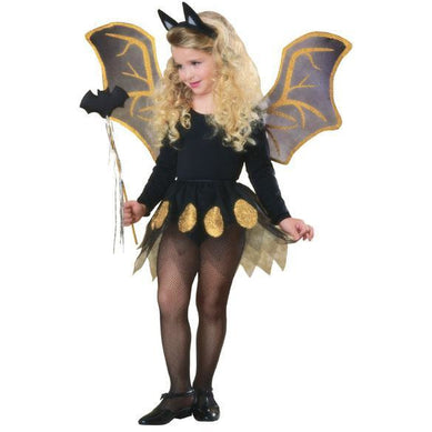 Glittery Bat Costume Accessory Kit - Make It Up Costumes