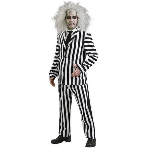Adult Beetlejuice Costume - Make It Up Costumes