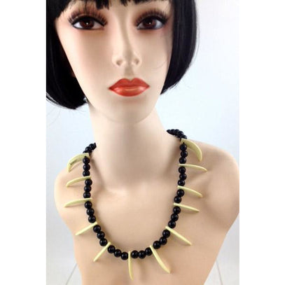 Witch Doctor/Voodoo Fang Necklace - Make It Up Costumes