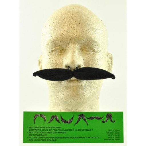 Fake Clip-On Mustache - Make It Up Costumes