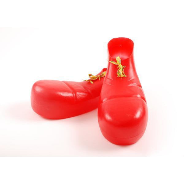 Plastic Adult Clown Shoes - Make It Up Costumes