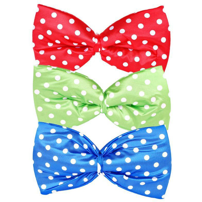 Oversized Clown Bow Tie - Make It Up Costumes