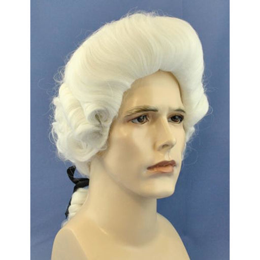 Men's Deluxe White Colonial Wig - Make It Up Costumes