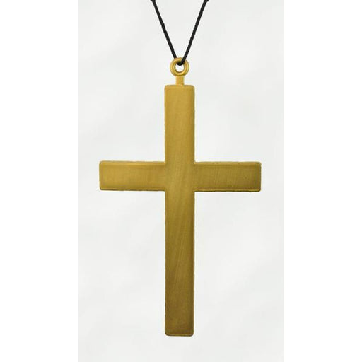 Gold Costume Cross Necklace - Make It Up Costumes