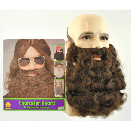 Fake Curly Beard and Mustache - Make It Up Costumes