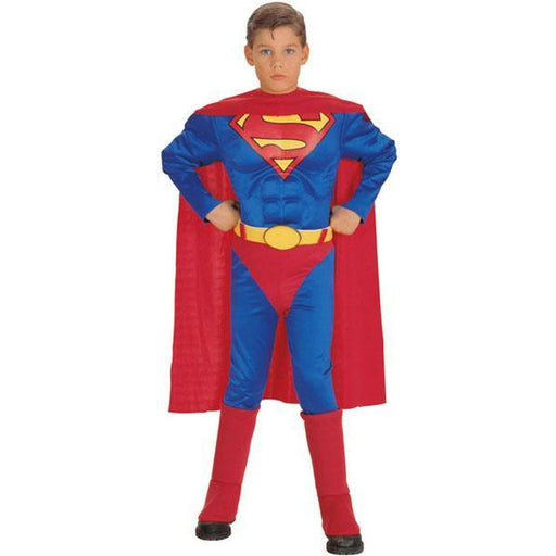 Deluxe Superman Costume for Kids - Make It Up Costumes