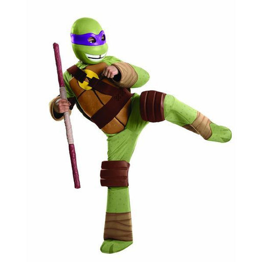 Teenage Mutant Ninja Turtles Donatello Costume for Kids - Make It Up Costumes