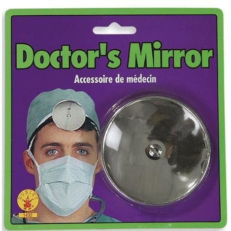 Doctor Head Mirror with Headband - Make It Up Costumes
