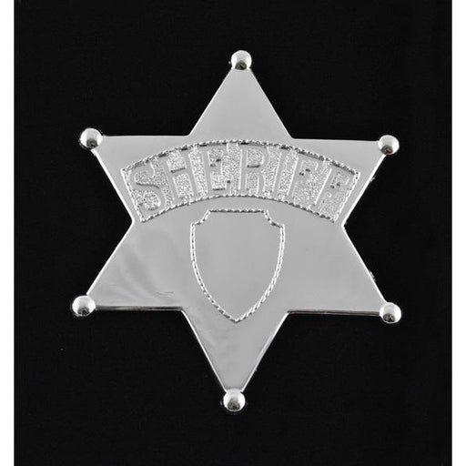 Jumbo Toy Sheriff Costume Badge - Make It Up Costumes