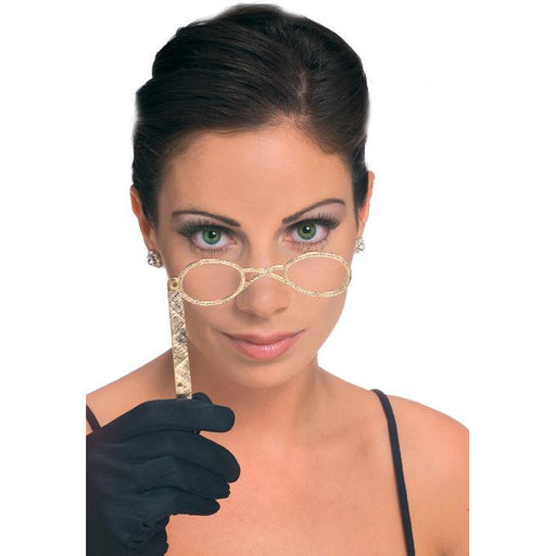 Lorgnette Eyeglasses with a Handle - Make It Up Costumes