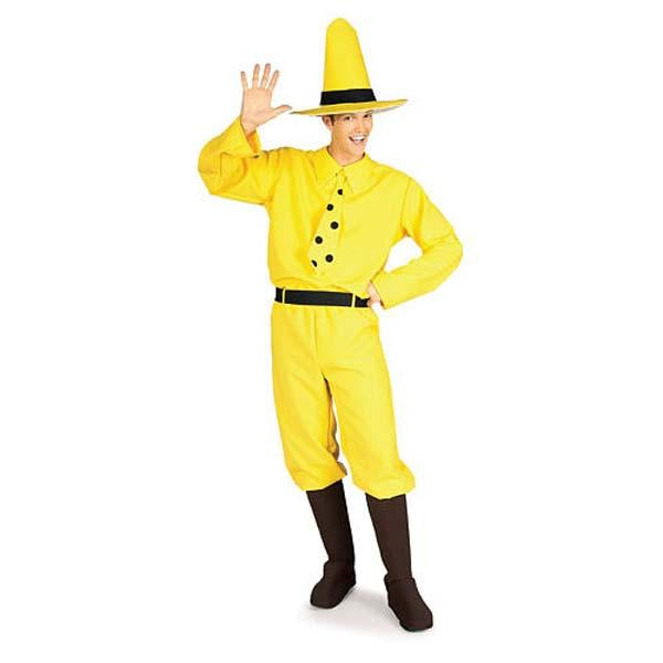 Curious George Man in the Yellow Hat Costume - Make It Up Costumes