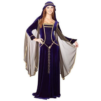 Medieval Queen Adult Costume - Make It Up Costumes