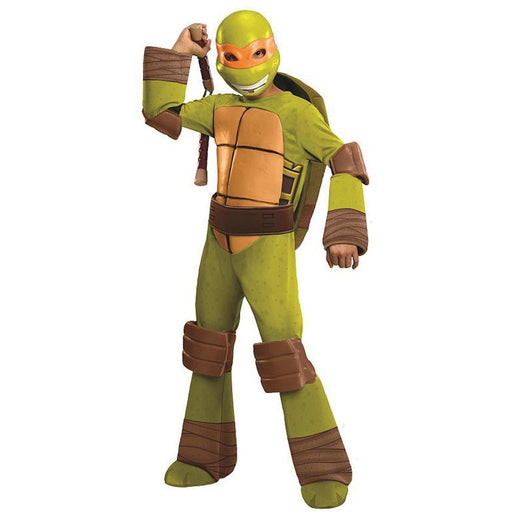 Teenage Mutant Ninja Turtles Michelangelo Costume for Kids - Make It Up Costumes