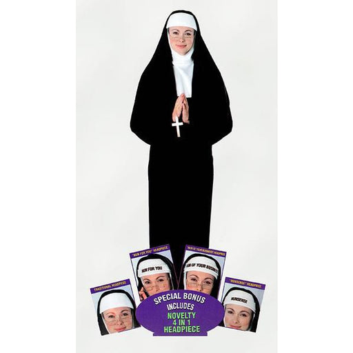 Nun Costume - Make It Up Costumes