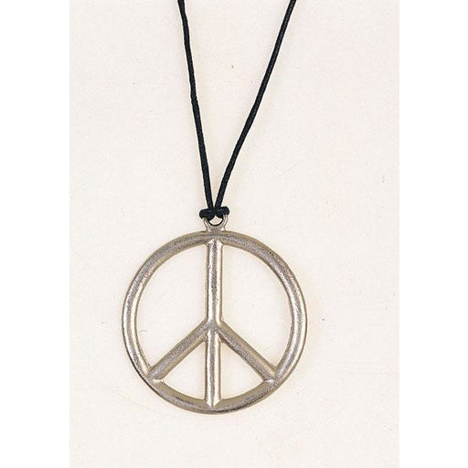 Peace Sign Hippie Necklace - Make It Up Costumes