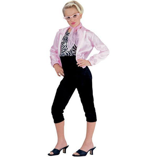 Girl's Pink Lady Costume - Make It Up Costumes