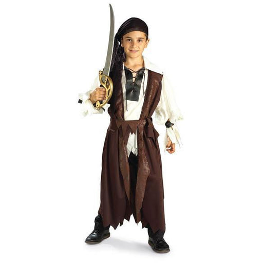 Caribbean Pirate Costume for Kids - Make It Up Costumes