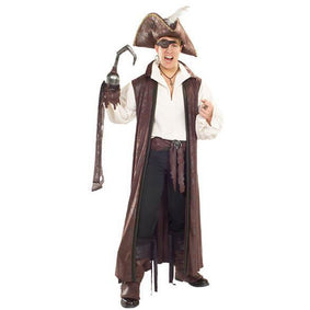 Long Pirate Coat - Make It Up Costumes
