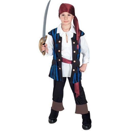 Boy's Pirate Costume - Make It Up Costumes