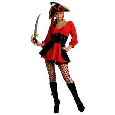 Women's Pirate Wench Costume - Make It Up Costumes