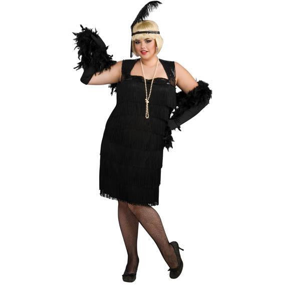 Plus Size Flapper Costume - Make It Up Costumes