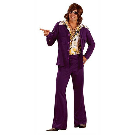 70's Purple Leisure Suit Costume - Make It Up Costumes