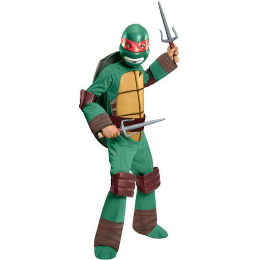 Teenage Mutant Ninja Turtles Raphael Costume for Kids - Make It Up Costumes