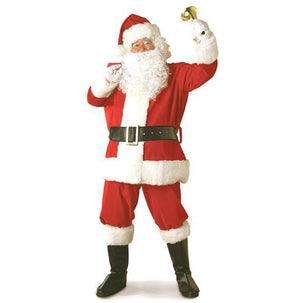 Regal Plush Santa Suit - Make It Up Costumes