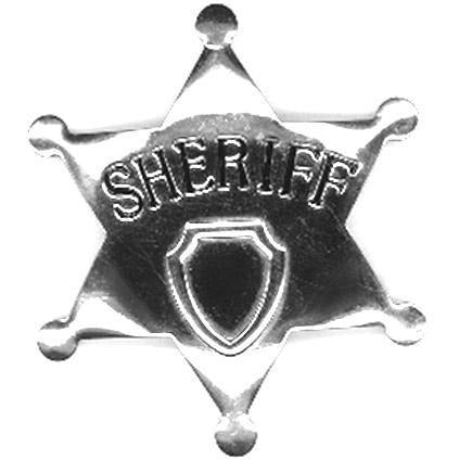 Deluxe Toy Sheriff Badge - Make It Up Costumes