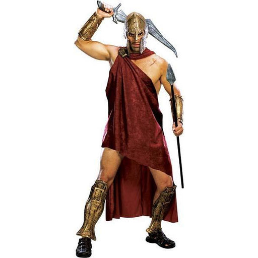 Men's Deluxe Spartan Warrior Costume - Make It Up Costumes