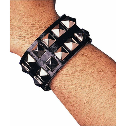 Punk Studded Wristband - Make It Up Costumes