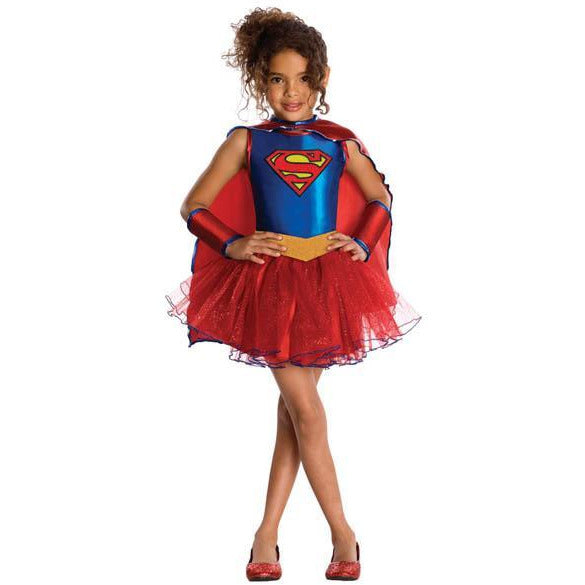 Supergirl Tutu Costume for Kids - Make It Up Costumes