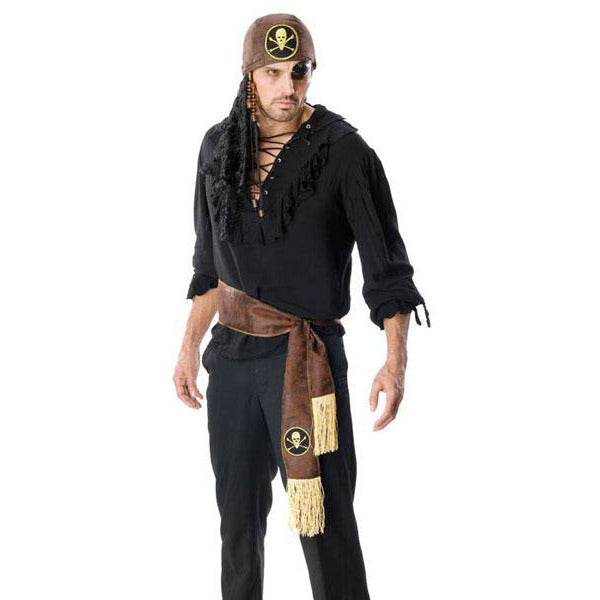 Men's Swashbuckler Pirate Costume - Make It Up Costumes