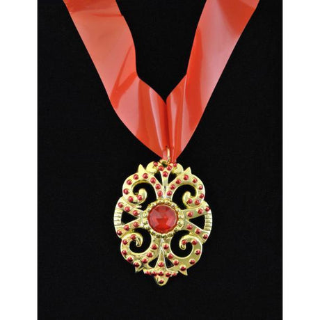 Vampire Necklace with Medallion - Make It Up Costumes
