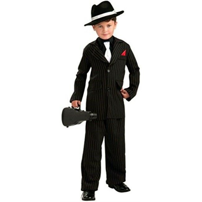 Little Gangster Childrens Costume - Make It Up Costumes