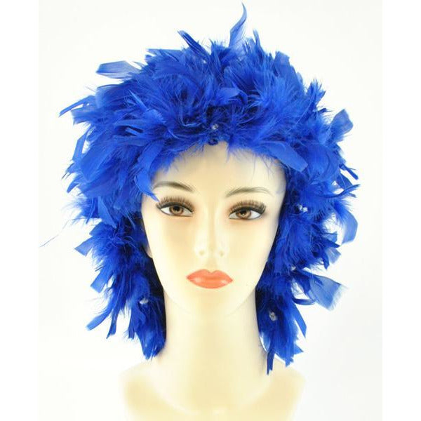 Feather Wig - Make It Up Costumes