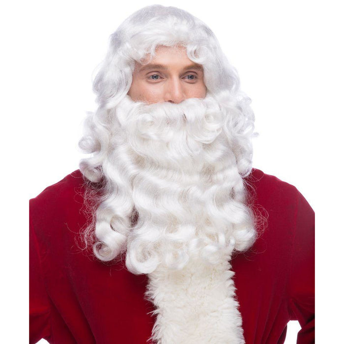 Santa RX Wig and Beard by Sepia - Make It Up Costumes